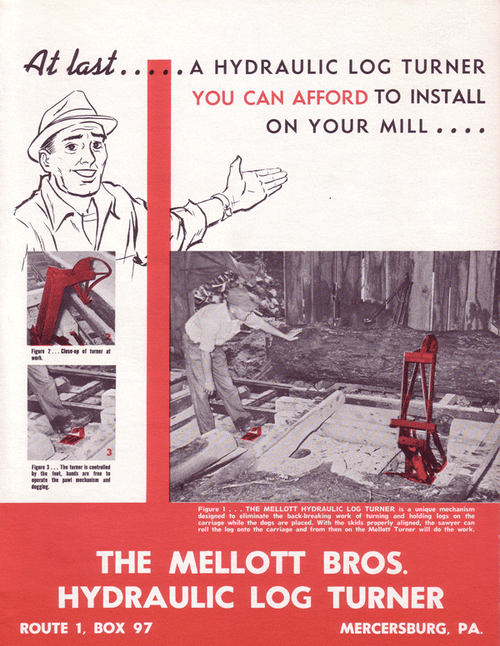 Old Mellott Manufacturing Ad