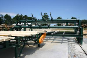 Multi-level Tie and Timber Sorting Station