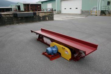 Mellott Standard Duty Vibrating Conveyor with Electric Drive