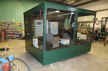Mellott offers operator booths complete with seats and controls as required.