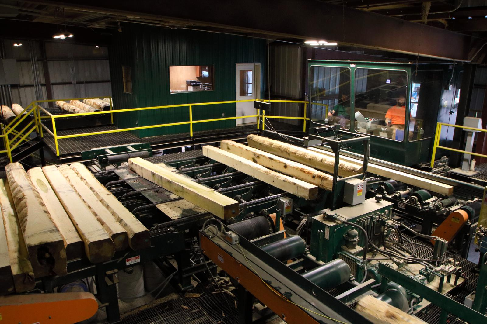 Vertical Linebar Resaw