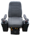 Optional Seat with Armrests and Controls
