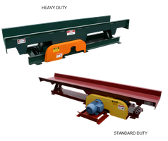 Standard and Heavy Duty Vibrating Conveyors